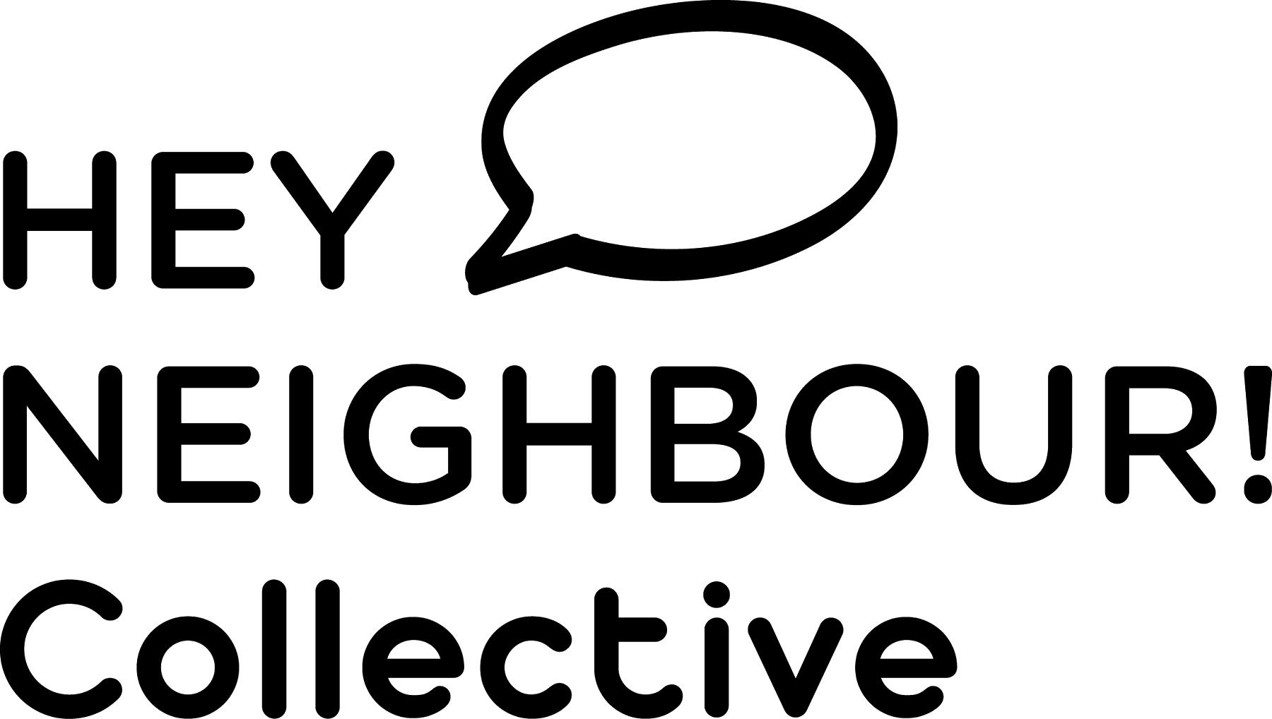 Hey Neighbour Collective logo.