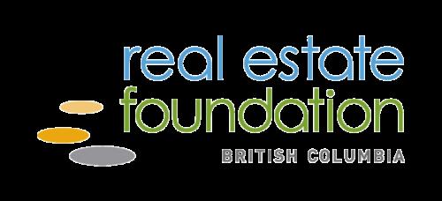 Real estate foundation BC logo.