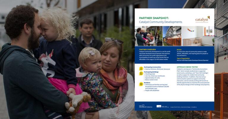 Partner snapshot: Catalyst Community Developments