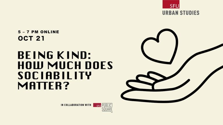 A summary of Being Kind: How much sociability matters