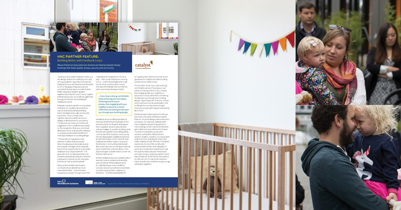 PDF report overlaid onto thee images. One is a crib in a white room with bright modern decor. The other two are both of a parent holding a young toddler.